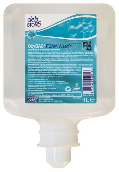 Deb OxyBAC™ Foam Wash Cartridge