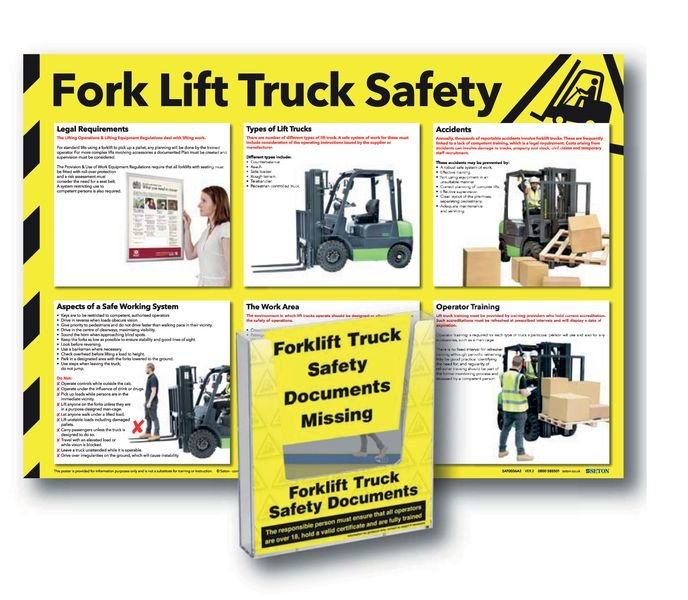 Forklift Truck Inspection Record Holder