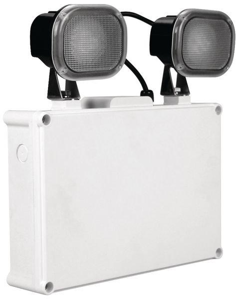 Twinspot LED Emergency Light Fitting