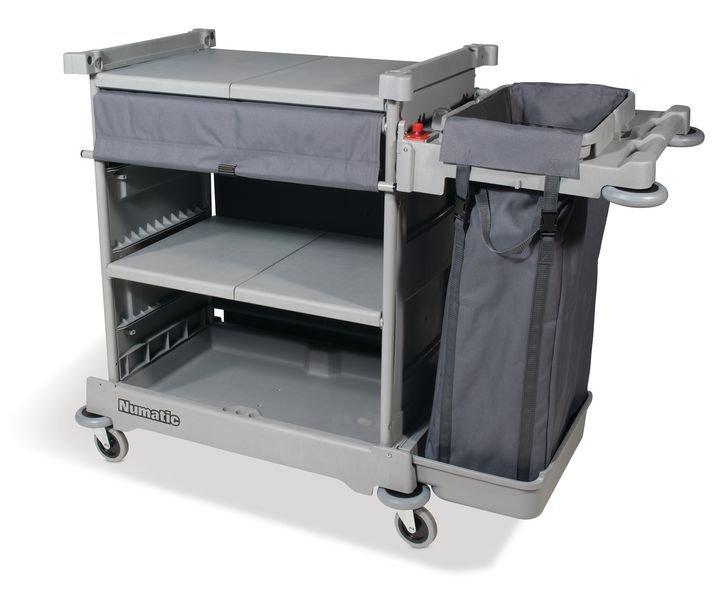 Numatic Low Level Housekeeping Trolley