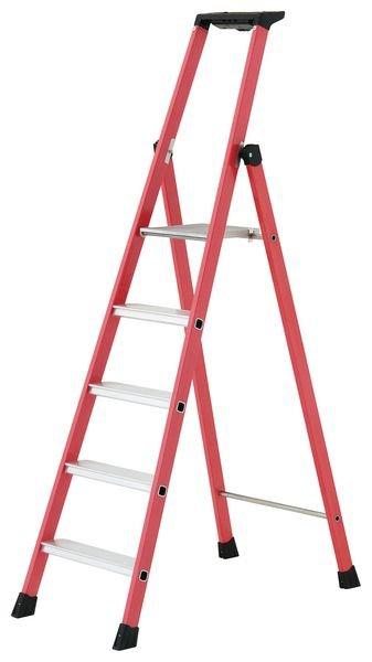 Compact Fibreglass Platform Step Ladders