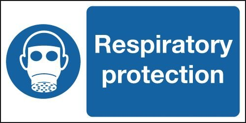 Respiratory Protection Symbol Signs
