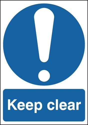 Keep Clear Window Fix Signs