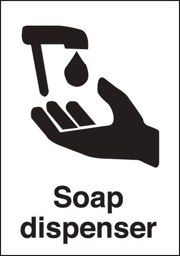 Soap Dispenser Sign