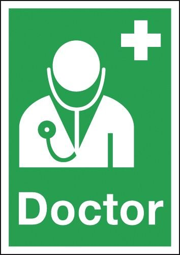 Doctor First Aid Signs
