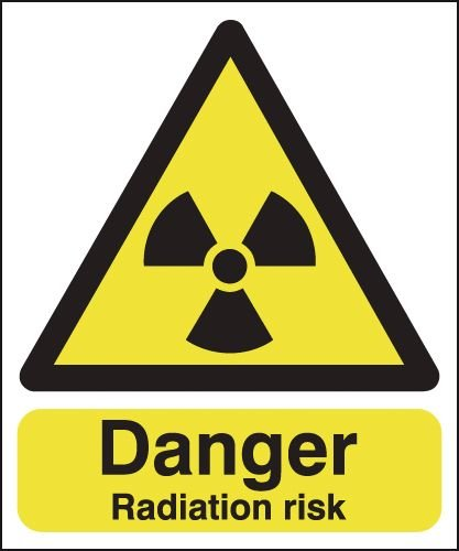 Danger Radiation Risk Signs