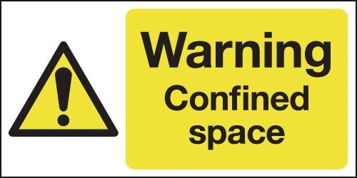 Warning Confined Space Signs