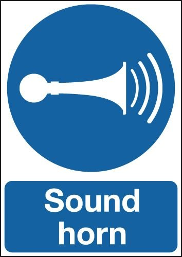 Sound Horn Signs