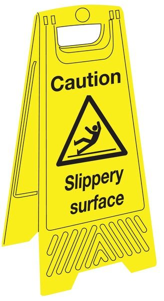 Economy Floor Stands - Danger Slippery Surface