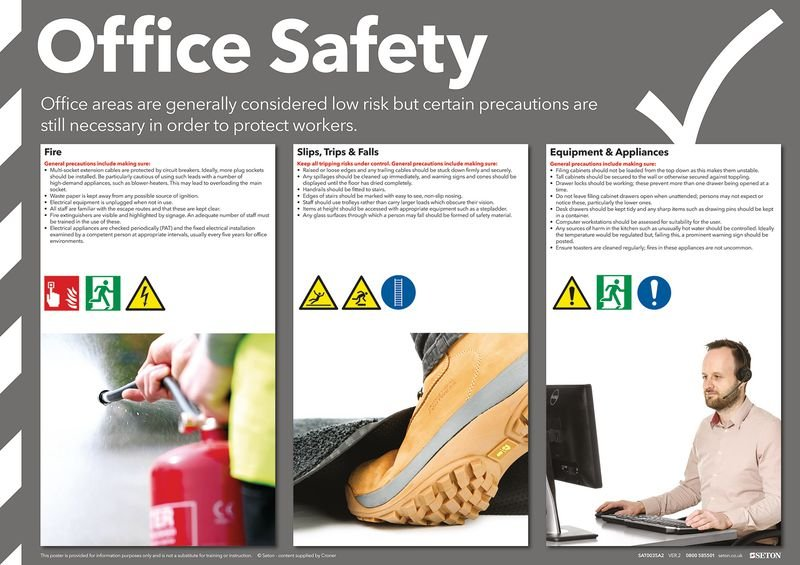 Office Safety Posters