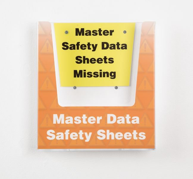 Master Safety Data Sheets Holder