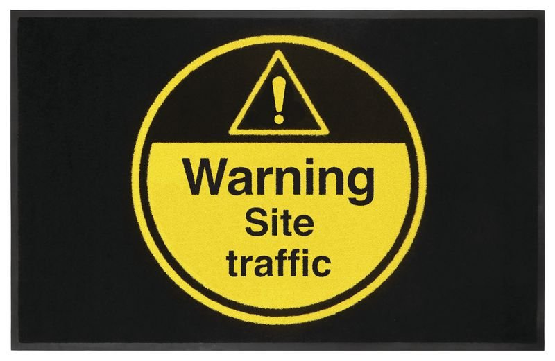 Warning Site Traffic Highly Visible Mats