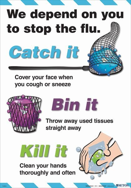 How To Stop The Flu Poster