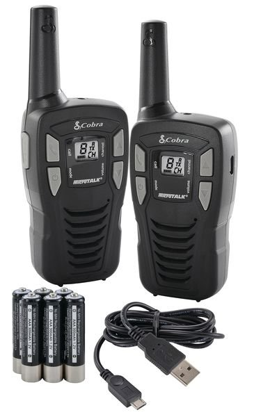 Cobra MT245 PMR 2 Way Radios - Twin Pack