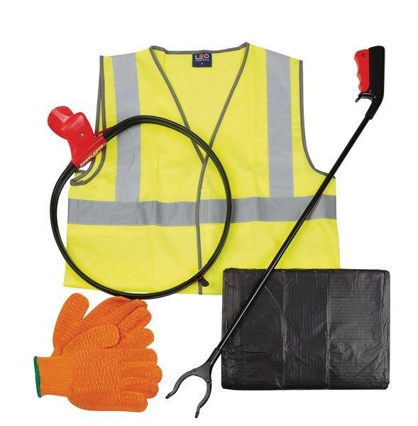 Litter Picking Kit - Including 200 Refuse Sacks