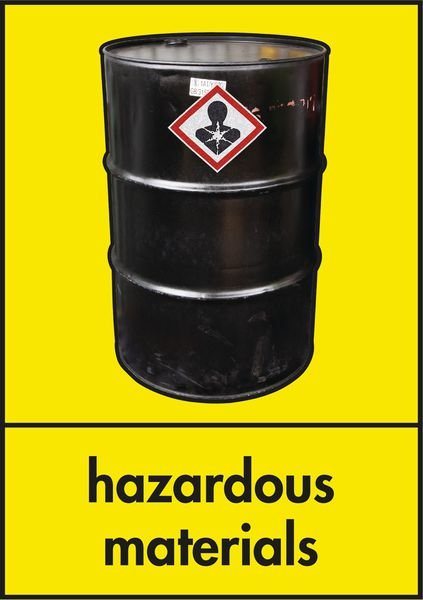 Hazardous Materials - WRAP Photographic Recycling Signs