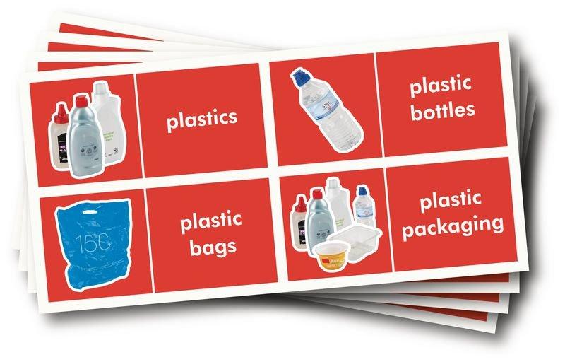 WRAP Photographic Recycling Labels - Plastics