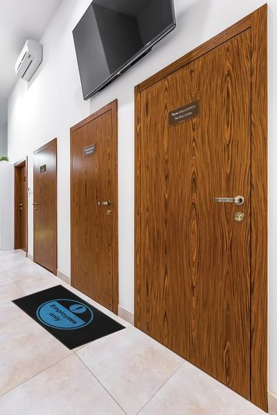 Employees Only Highly Visible Mats