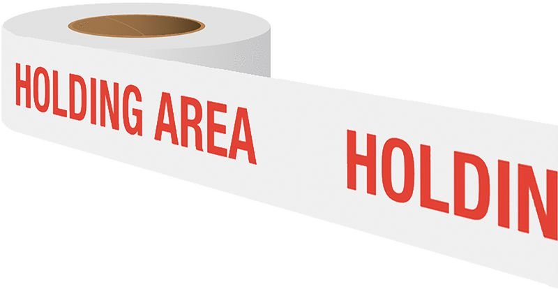 Quality Assurance Barricade - Holding Area
