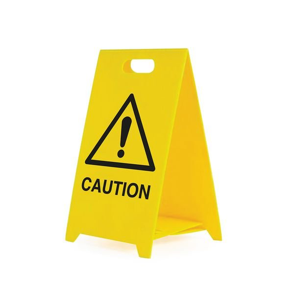 Caution -Safety Warning 'A' Board