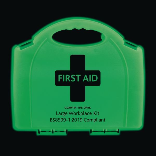 Photoluminescent Workplace First Aid Kits