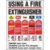 Fire Extinguisher Posters & Pocket Guides