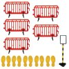 Outdoor Social Distancing - Safety Barrier & Floor Marking Kit