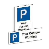 Custom Parking Bay Signs