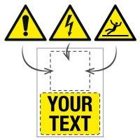 Custom Hazard Signs