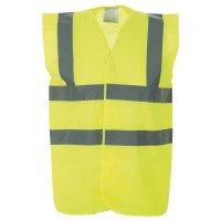 Hi-Visibility Vest With Reflective Belt & Straps
