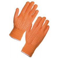 Supertouch Criss Cross PVC Gloves