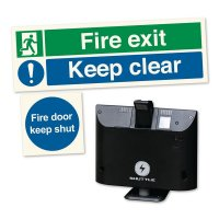Sonicco Fire Door Retainer & Signs Kit