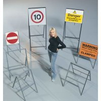 Metal Sign Stanchions
