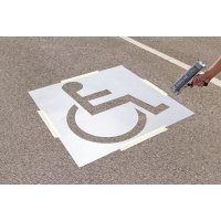 ROCOL® Disabled Parking Bay Stencil