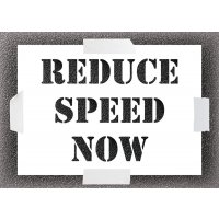 Reduce Speed Now Stencil Kit