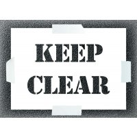 Keep Clear Stencil Kit