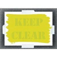 Keep Clear Stencil Kit