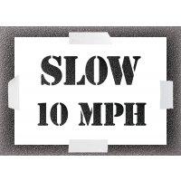 Slow 10mph Stencil Kit