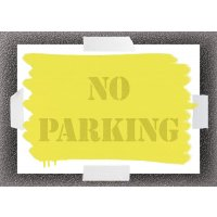 No Parking Stencil Kit