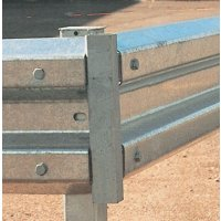 Sectional Steel Barrier - Radius Bend Fitting