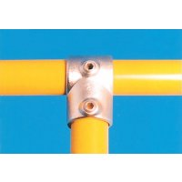 Modular Barrier - Short Tee Galvanised Clamp