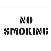 Reusable Industrial Marking Stencils - No Smoking