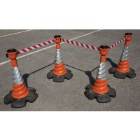 Skipper™ Retractable Barrier and Cone Kits - Skipper™ Cones