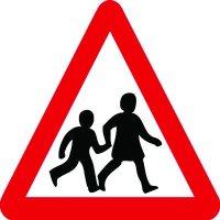 Traffic Signs - School Crossing