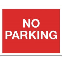 No Parking - Class 1 Reflective Sign
