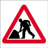 Roadworks Economy Works Traffic Sign
