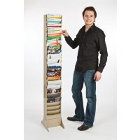 Vertical Con-tur® Literature Rack