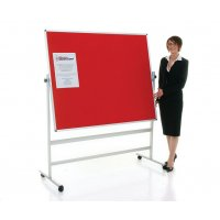 Portable Flame Resistant Noticeboards