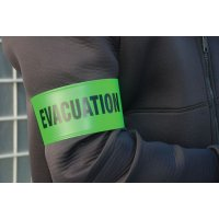 High Visibility Customisable Fluorescent Armbands
