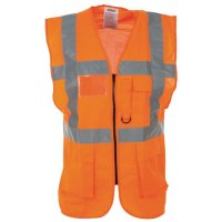 High Visibility Executive Waistcoat Vest
